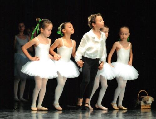 I benefici della danza per i bambini.